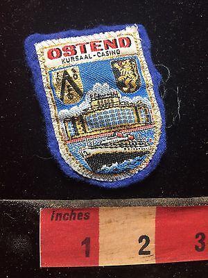 OSTEND KURSAAL CASINO BELGIUM Jacket Patch - Event Venue / Gamble 75R