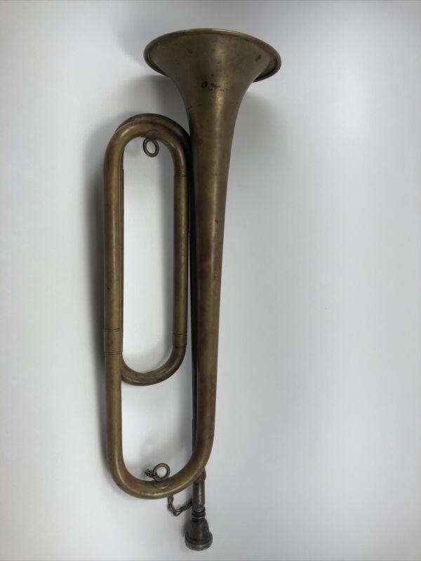 Vintage Ludwig Regulation M1892 Field Trumpet (Bugle)