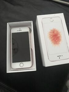 Cell phone iPhone SE rose gold