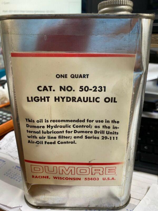 Dumore Hydraulic Oil