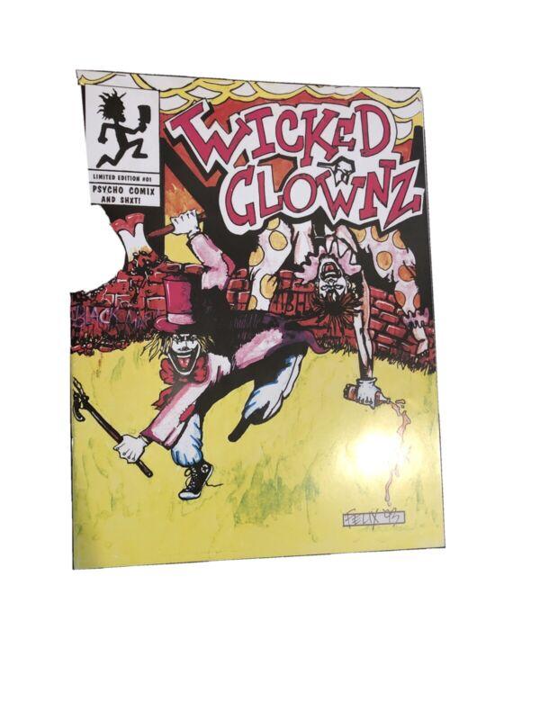 Insane Clown Posse ICP Wicked Clownz Comic 1993 PSYCHOPATHIC RECORDS