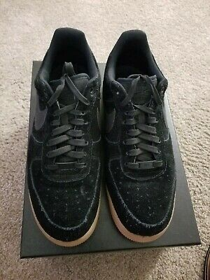 Nike Air Force 1 Low Black/Gum Size 11 (Air Force 1 Black Suede Gum Low)