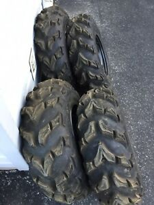 "26"" tires and wheels fit Honda, Yamaha, suzuki"