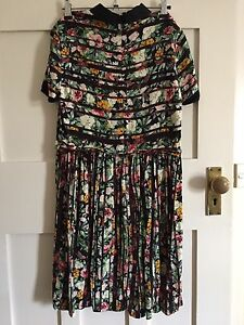 RIVER ISLAND floral striped dress - size 8 Coogee Eastern Suburbs Preview
