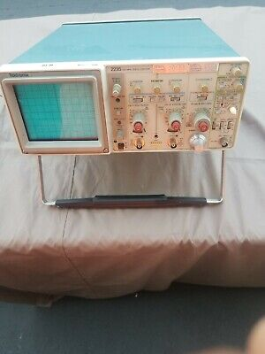 Tektronix 2235 100mhz Two Channel Oscilloscope Calibrated 2 Probes Sn B010836