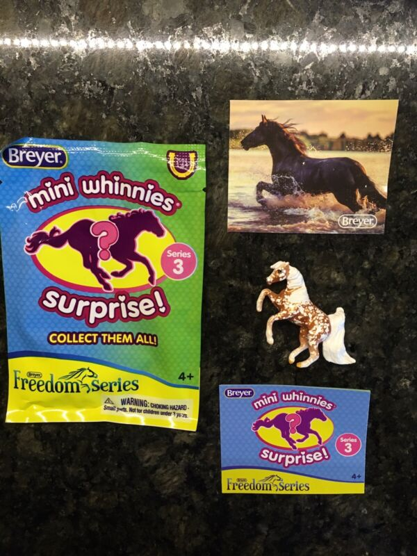 Breyer Mini Whinnies Surprise. Freedom Series. Series 3. Pixie. Chase Piece