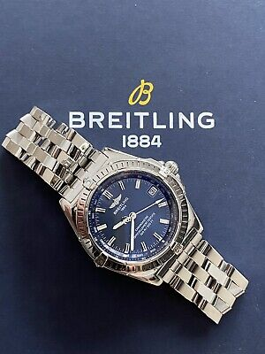 Breitling Windrider Wings Stainless Steel Automatic 38mm Watch £1495 Ono