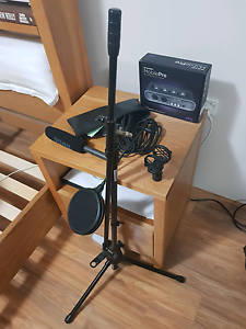 Rode NTG2 mic/home audio set-up Carlingford The Hills District Preview