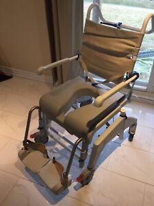 Invacare Aquatec Ocean VIP and Soft Seat  Shower Chair Commodes