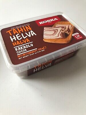 Halva with cocoa- Tahin Helva ( Koska ) 700g Halal-UK Seller