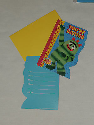 NEW YO-GABBA-GABBA   8-INVITATIONS    PARTY - Yo Gabba Gabba Invitations