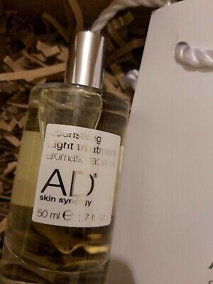 Brand New AD Skin Synergy Nourishing Night Treatment Aromatic Facial Oil 50ml