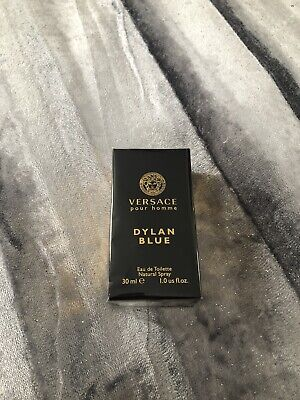 RRP £40 Brand New Boxed Sealed Versace Dylan Blue Pour Homme EDT 30ml for him.