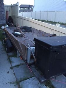 4 x 7 trailer with tool box