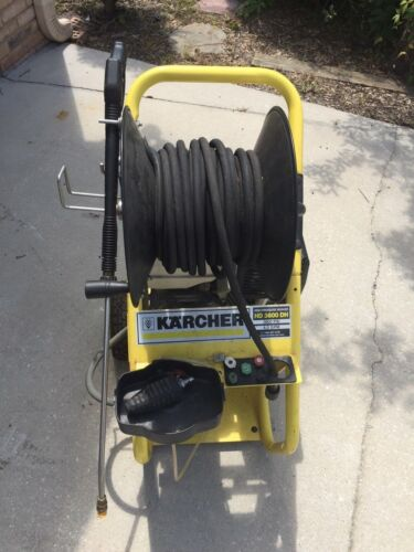 Karcher HD3600DH 13 HP 4 GPM @ 3600 PSI Gas Pressure Washer Excellent Condition!