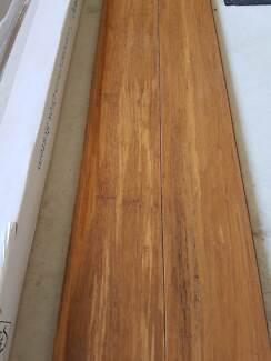Bamboo strand woven flooring