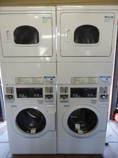 Speed Queen coin op stacked washer/dryer- delivery Aus wide avail