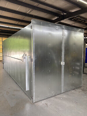 8x8x20 Full Welded Tube Gas Powder Coating Batch Oven 2021 Models Free Shipping