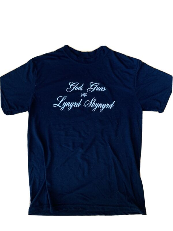 Super Rare Lynyrd Skynyrd Shirt - Only 3 Dozen Made For Band And Crew