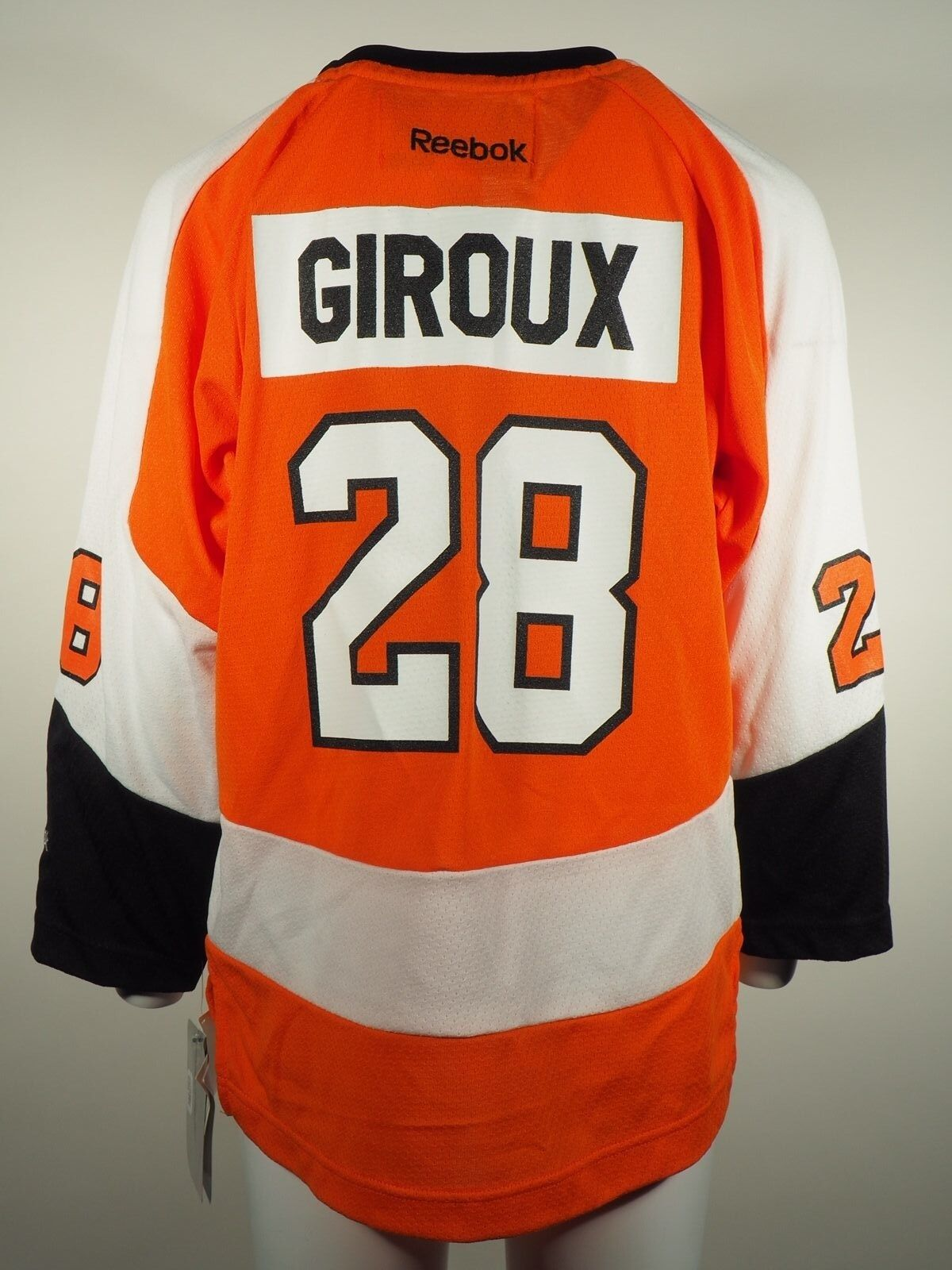 san francisco 6ebef 104d8 Details about Philadelphia Flyers Official NHL Reebok Kids Youth Size  Claude Giroux Jersey New