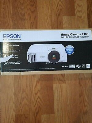 NEW Epson Home Cinema 2100 Full HD 1080p 3LCD Projector