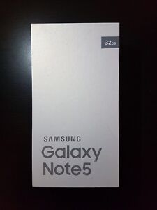 Samsung note 5 , note 4 , galaxy s7 new in box unlocked
