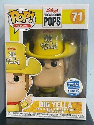 Funko Pop - BIG YELLA 71 - Kellogg's Sugar Corn Pops - AD Icons Funko Shop [5]