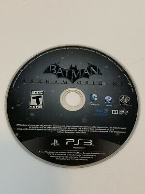 Batman Arkham Origins -Loose- PS3 Playstation Games- Tested And Works! for sale  Shipping to Nigeria