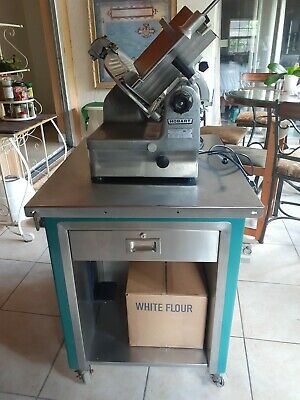 Hobart Meat Slicer 1712e With Rolling Table