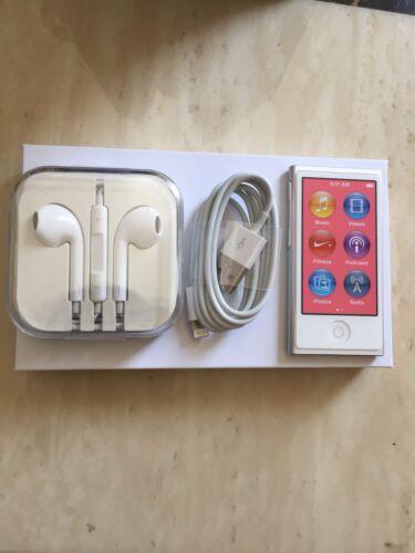 Ipod - NEW Apple iPod Nano 7th Generation  (16 GB) 90 DAY WARRANTY SILVER FAST SHIPPING