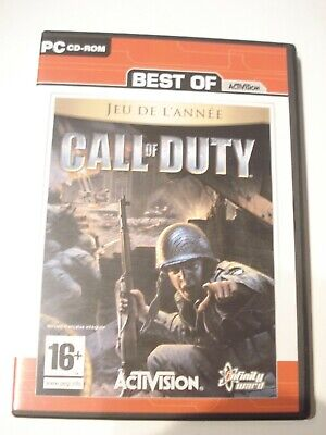 Best Of -- Call of Duty -- Game Edition PC