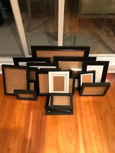 23 assorted picture frames