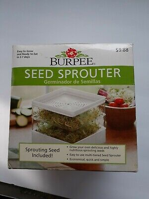 Burpee seed sprouter kit complete