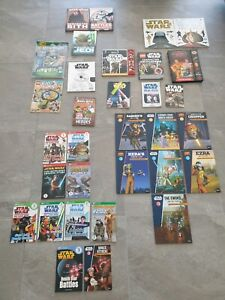 Huge Collection of 32 x Star Wars Reading and information BOOKS