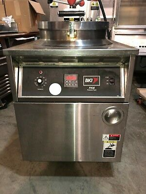 Bki Pressure Fryer Fkm-f- W Filtration System -electric 3 Phase -2015 Model