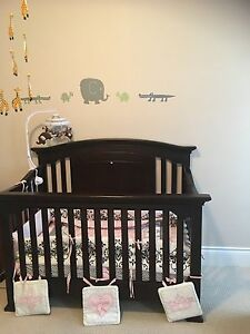 Baby crib,mattress +blanket set (with Radiation Protection)