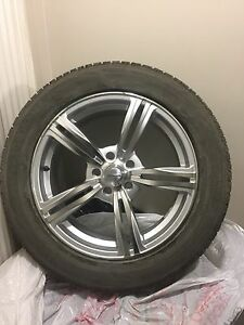 Brand new alloy rims mounted on 235/55 R18