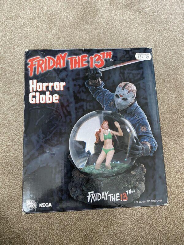 Neca Friday The 13th Jason Voorhees Horror Snow Globe Snowglobe 2003 Rare!