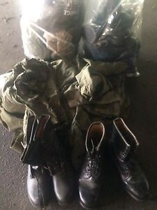 Army issued goods Lots.