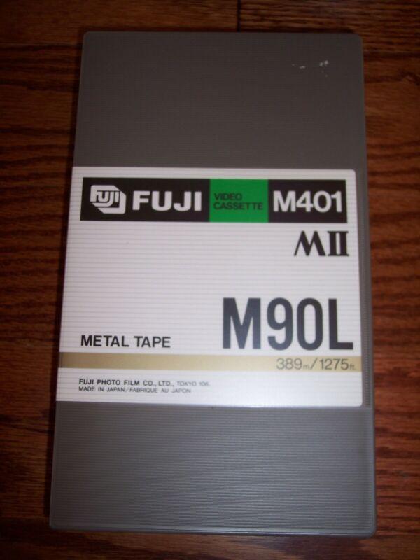 BRAND NEW Fuji MII (M2) Metal Videocassette Tape M401 M90L Professional Grade