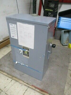 Square D Double Throw 3r Non-fusible Safety Switch Disconnect Dtu-224-nrb 200a