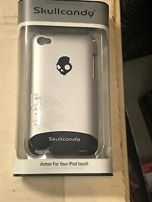 NEW SKULLCANDY Armor Slider Case iPod Touch 4G  Silver Cover w/screen protector ()