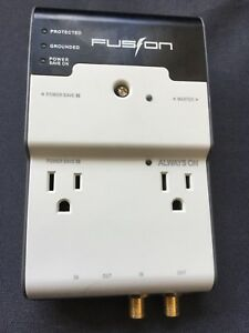 Fusion Surge Protector electric/phone/cable