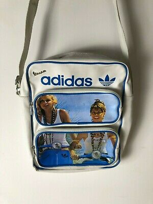 VINTAGE ADIDAS ORIGINALS Messenger Side Bag VTG Bag - Very Rare - 90s VTG Vespa