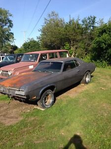 1969 COUGAR (RESTORATION PROJECT) TRADE FOR SLED