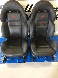 Commodore vy R8 Coulson black leather front seats Walliston Kalamunda Area Preview