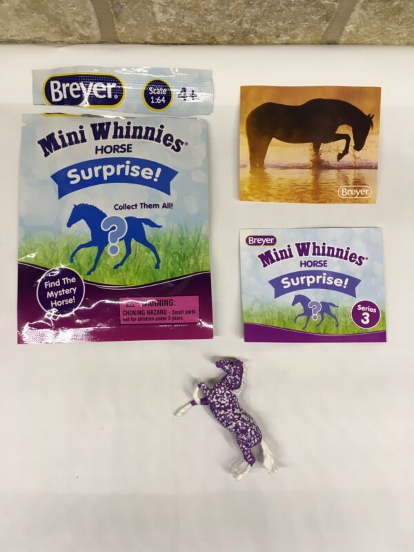 Breyer Horse Mini Whinnies Horse Surprise. Series 3. Violet Chase Piece.