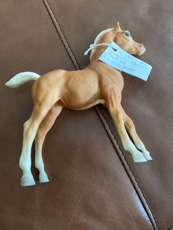 Breyer Horse #6 Matte Palomino Family Arabian Foal CharityVintage