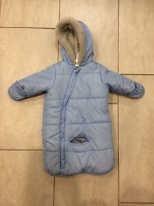 Infant carseat snowsuit