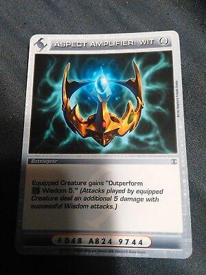 Aspect Amplifier: Wit 132/222 Chaotic Card NM (Aspect Amplifier)
